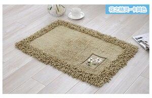 Image 3 - durable bathroom rug set,luxury big size bath tub mat non slip,door bathroom set carpet,bath mats rugs floor,60X90CM, 45X120CM