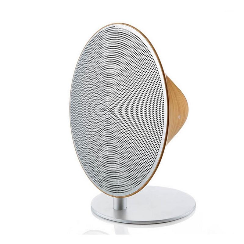 High end di legno speaker bluetooth NFC subwoofer altoparlante di alta qualità elegante di legno ad alta potenza mini amplificatore senza fili