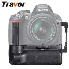 Profesyonel çok güç pil yuvası Nikon D3300 D3200 D3100 DSLR kamera