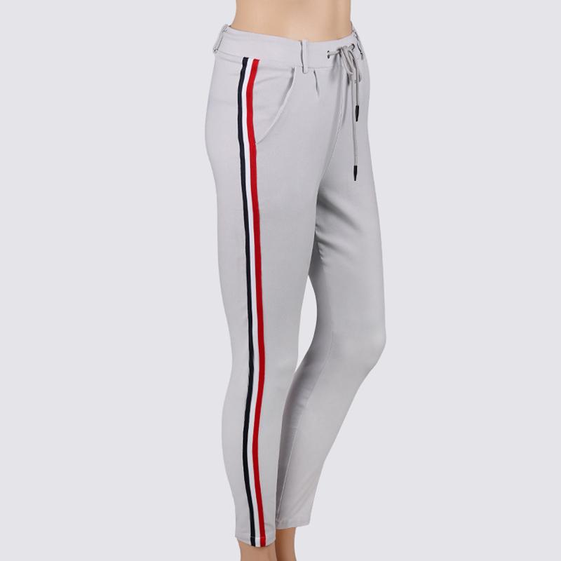 HTB1.W6gggMPMeJjy1Xdq6ysrXXa5 - FREE SHIPPING High Waist Knit Red Striped Sideseam Sweatpants JKP257