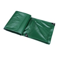 PVC Coating Cloth Car Tarpaulin Luggage Cover Canvas Waterproof Anti Aging Canopy Outdoor Crops Covered Tarpaulin
