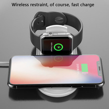 Wireless Charger for IPhone X 8 XR XS Max for Apple I Watch 2 3 10W Qi Wireless Charge for Samsung S7 S8 S9 Plus Note 8 9 цена и фото
