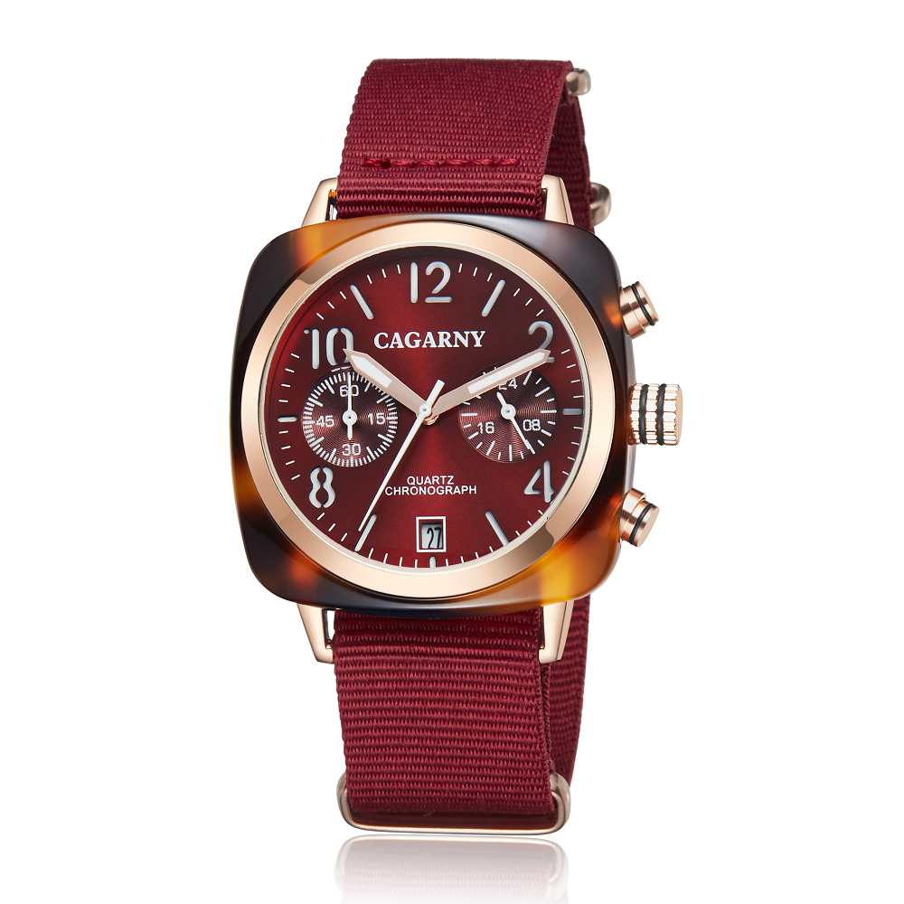 2019 Classic Chronograph Quartz Watches androgynous Fashion Watch His or Hers Wristwatch for Men Women Lovers Wedding Romantic Gift  (23)