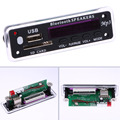 Bluetooth MP3 Decoding Board Module w/ SD Card Slot / USB / FM / Remote Decoding Board Module Bluetooth/FM/ AUX Remote Control