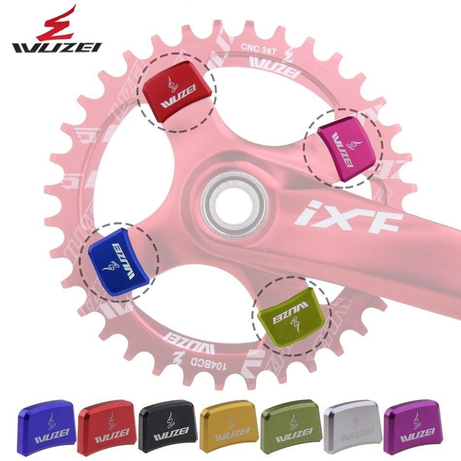 5x Bicycle Chainwheel Screws CNC 7075 Chainring Wheel Bolt Bike Disc Screws  GX