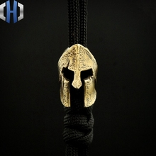 Ancient Greek Vicissitudes Version Of Collins Helmet Pendant EDC Knife Beads Umbrella Rope DIY Accessories