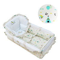 Высокое качество кроватки для носителя Портативный Baby колыбель кровать стандарт экспорта детская спальная корзина Детские принадлежности