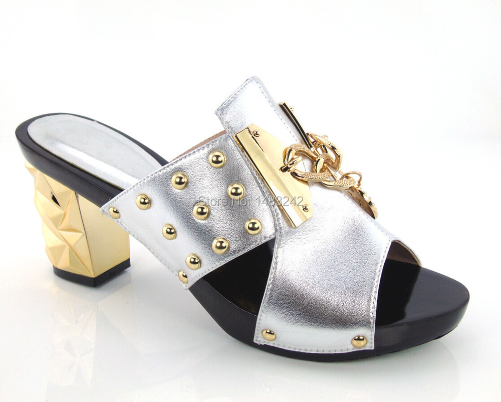 Item No yh15 1784 sliver available fashion Italian matching font b shoe b font and bag
