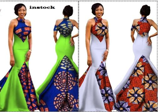 ae9197ed5ac Mermaid African Dresses New Arrival Sleeveless Floor Length Women Formal  Occasion Dress Africa Evening Gowns for Women WY1314-in Africa Clothing  from ...