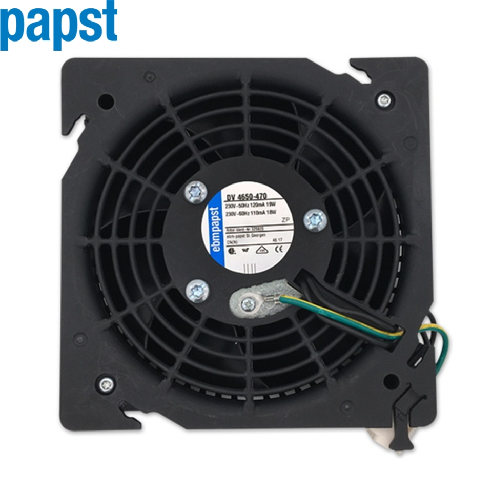 1pcs New ebmpapst DV 4650-470 230V-50HZ 110MA 19W Cooling Fan original ebmpapst 1120ntd tc 220 230v 16w 19w cooling fan