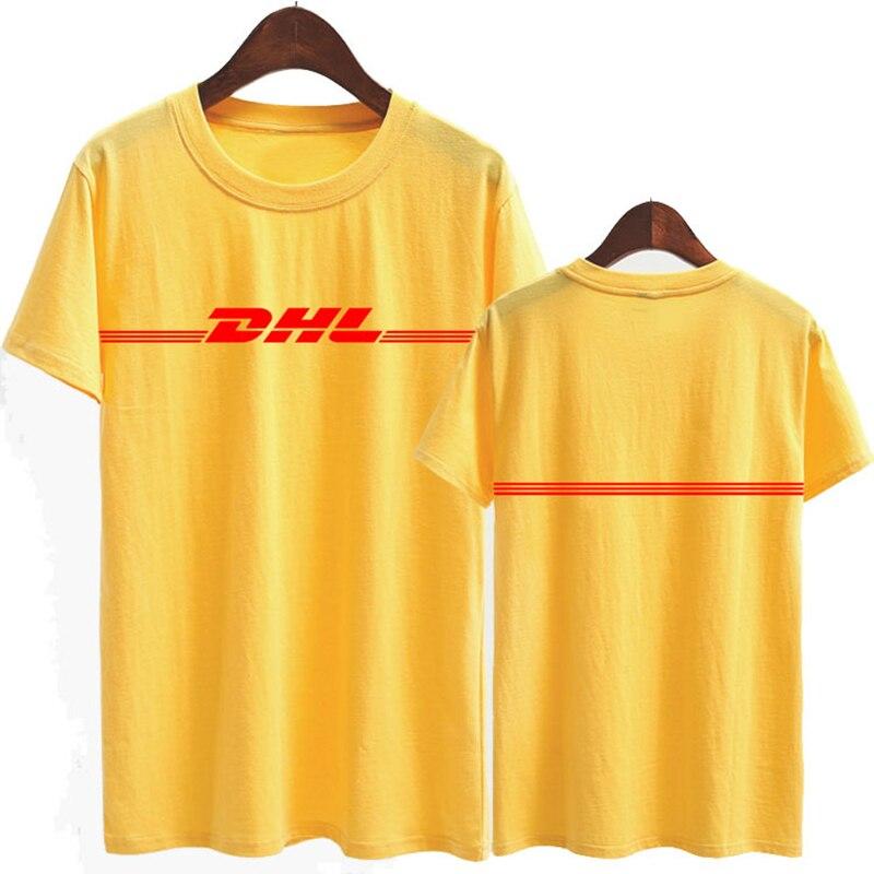 HTB1.W8gOFXXXXbAaFXXq6xXFXXXr - DHL Logo Summer T Shirt