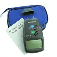 Nuevo 5%-40% Digital LCD 4 Pin Madera medidor De Humedad Medidor de Humedad Damp Detector Tester H02