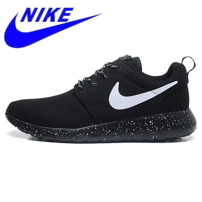 9a8da6df1166 Original Authentic NIKE ROSHE RUN Men s Running Shoes Sport Outdoor ...