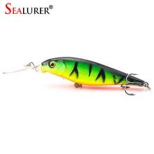 Brand 3D Lifelike Eyes font b Fishing b font Minnow Lures 10 Colors 11cm 10 5g