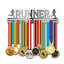 RUNNER medal hanger Sport holder Running Marathon gifts