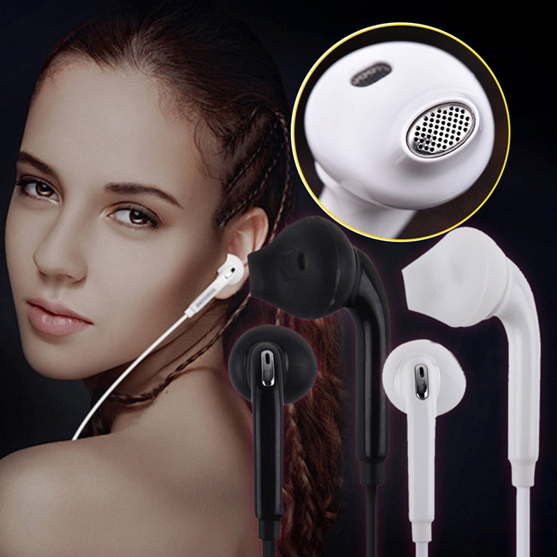 3PCS 1.2m in-ear Earphone Mic/remote control Headset for s4 s5 s6 s7 edge Note 3 4 5 7 Original For Samsung earphone Galaxy yl in ear earphones w mic line control for samsung galaxy n7100 note 3 n9000 pink 112cm