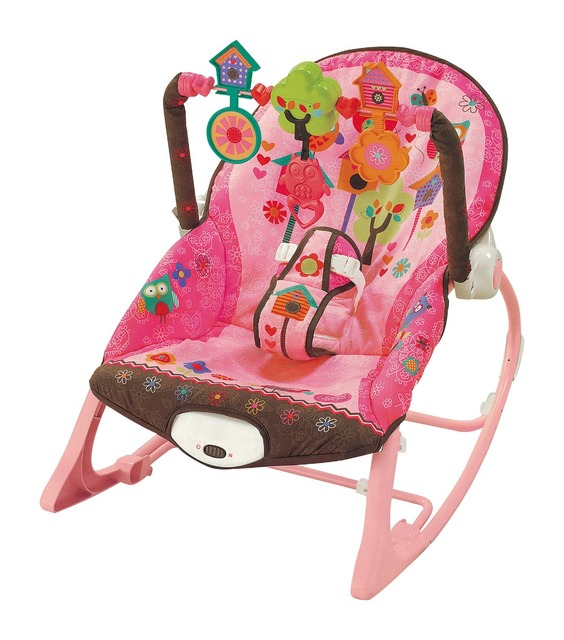 a796dbeb8352 Free shipping multifunctional vibration baby musical rocking chair ...