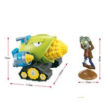 28005 Plants Vs Zombies Garden Maze Struck Game Toy Can Launch Bullets Action Toy  Figures Toys недорого
