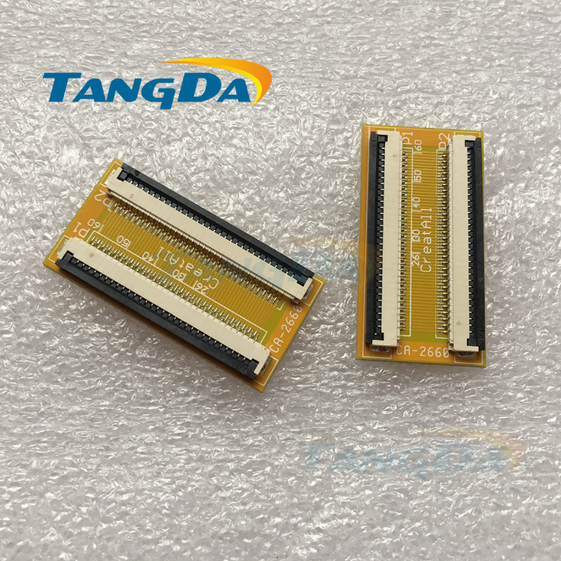 Tangda FPC 30P adapter plate 30PIN connector pitch spacing 1mm FPC connector 1.0 mm PCB A.