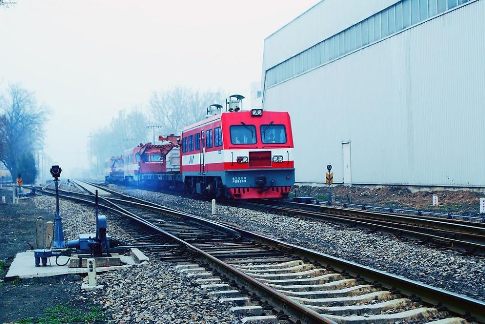 SHENGYONGBAO 7x5ft Art Cloth Custom Railway Theme Photography Backdrops Prop Photo Studio Background NTG-245