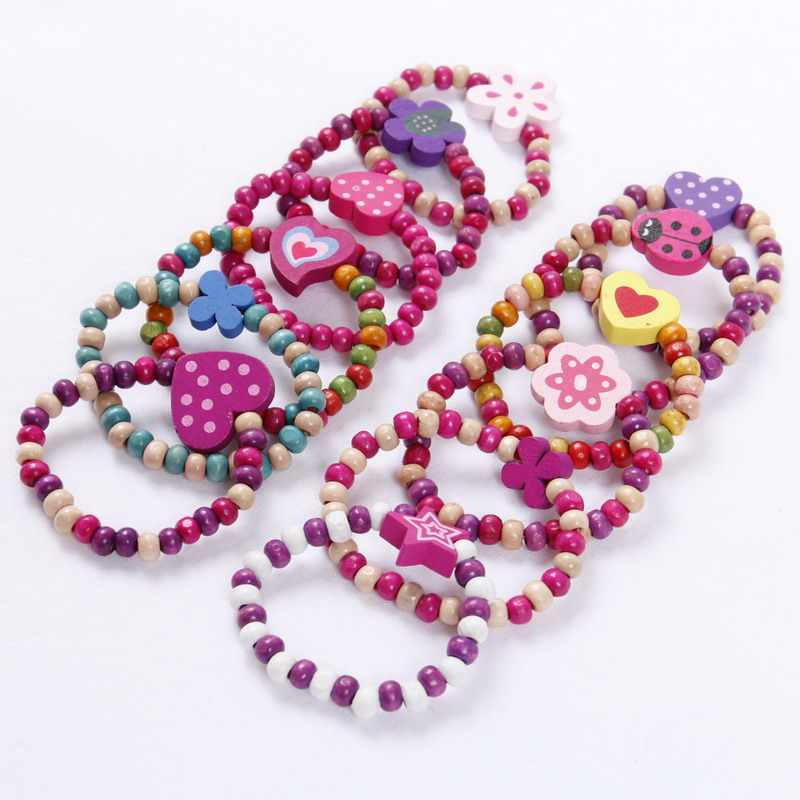 12 pcs  GIRLS PRINCESS PARTY BAG FILLERS kids Bracelets Gifts favours Jewellery
