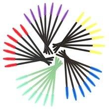 50pcs Silicone Disposable Eyelash Brush Mascara Wands Applicator Eyelash Comb Makeup Brushes Individual Lash Removing Swab Micro цена