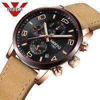 NIBOSI 2018 Спорт Для мужчин часы лучший бренд высокое качество роскошные Стиль Для мужчин часы Бизнес часы Для мужчин часы элегантные и удобные