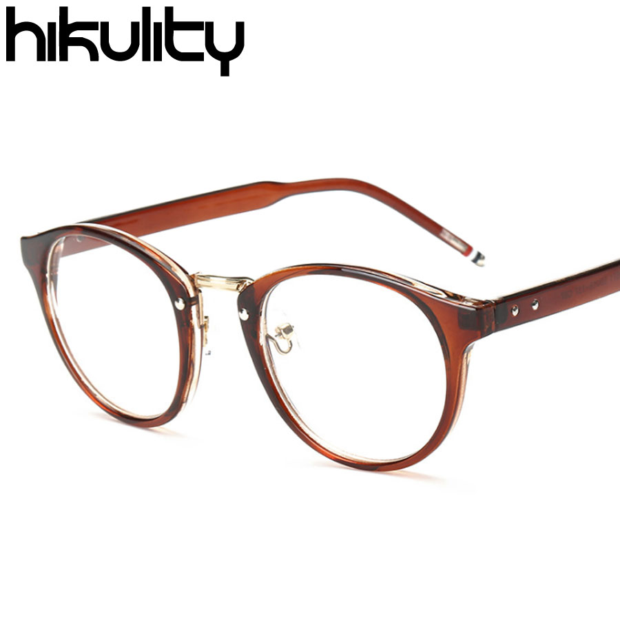 Eyeglasses frames in style - New 2017 Vintage Korean Style Clear Glasses Women Luxury Brand Designer Lady Eyewear Frames Transparent Lens