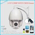 XMEye 4X Zoom óptico de 2MP 1080 p full hd Câmera PTZ ip p2p 4 polegada mini ptz câmera de rede poe com 2.0mp sony baixo-luminância coms
