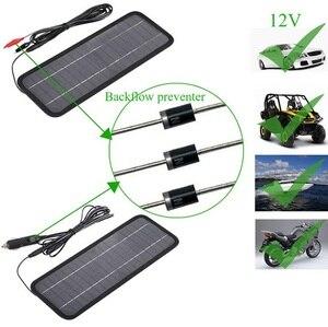 Image 2 - Buheshui 12 v 자동차 보트 모터 배터리 충전기 태양 전지 패널 충전기에 대 한 18 v 4.5 w 휴대용 태양 전지 패널 충전기 무료 배송