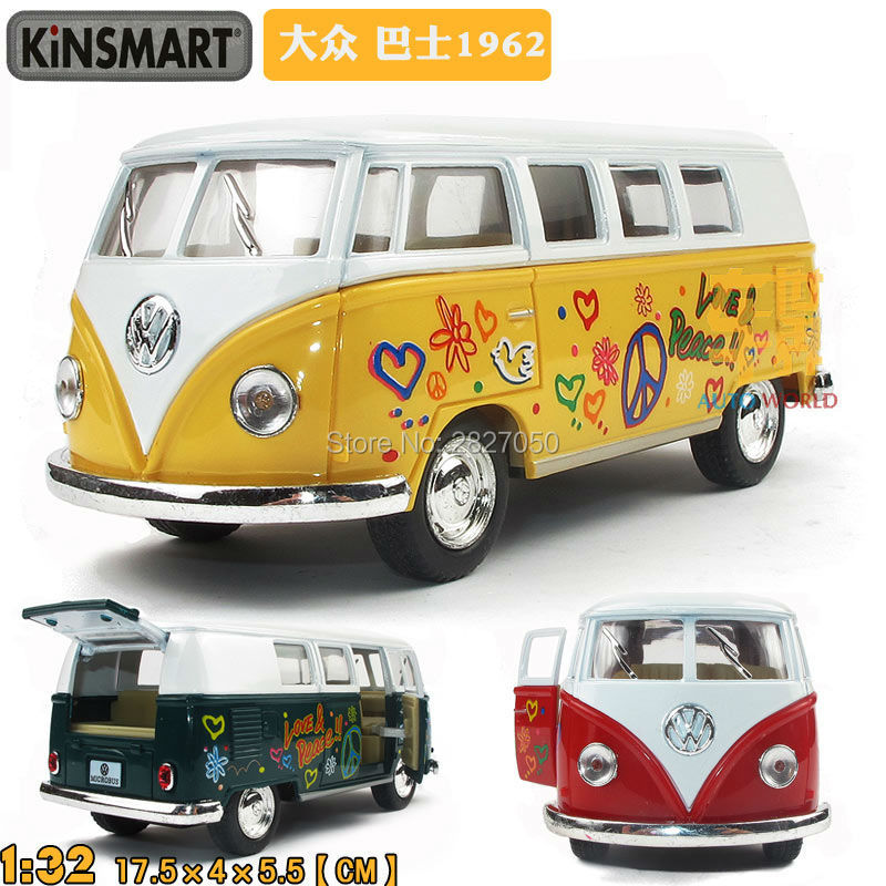 High Quality Classic Bus Soft World Minibus Toy MiniVan Alloy Model Toy Bus As Gift For Boy And Kids