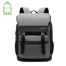 2018 Men Anti-theft Waterproof Backpack USB Charging  inch Laptop Backpack Student men School Bags For Teenagers Travel Bag цены онлайн