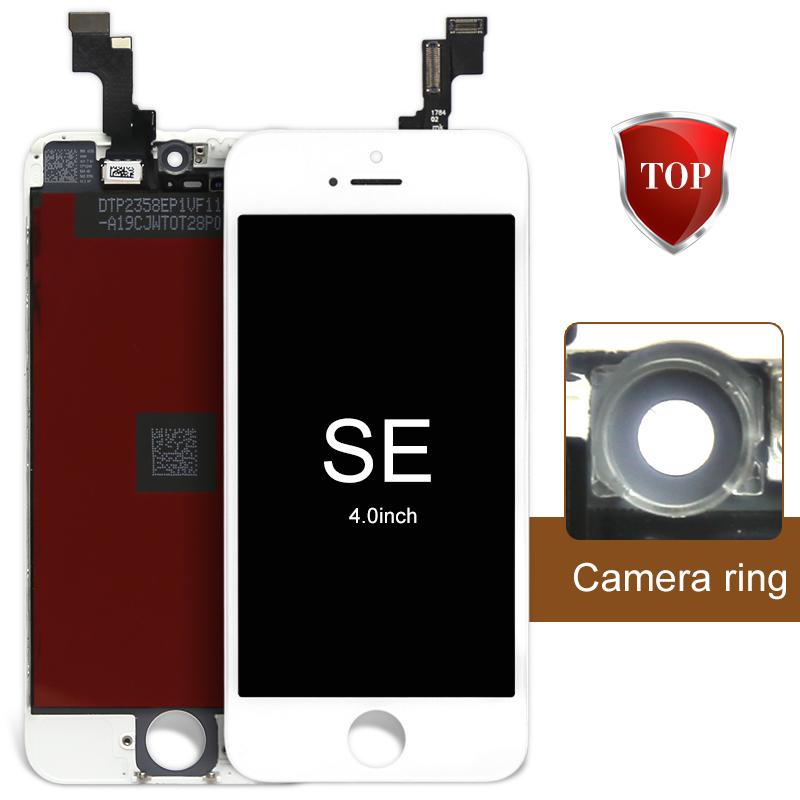 Prix pour Alibaba chine LCD Écran Tactile Pour Mobile Téléphone LCD Affichage Pour iphone SE LCD Écran Tactile Digitizer Assemblée + Caméra titulaire