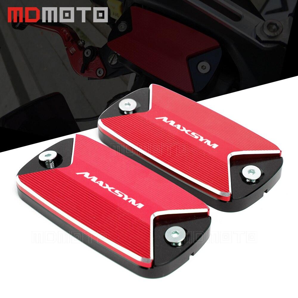 Nouveauté pour KYMCO MAXSYM 400 400i 600 600i max sym accessoires moto couvercle du réservoir de liquide de frein avant