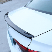 For Audi A4 B9 4 door sedan 2016 2017 2018 S4 style high quality carbon fiber rear wing Roof rear box decorated spoiler pp car rear diffuser lip bumper protector with exhaust muffler for audi a4 b9 sline s4 sedan 4 door non a4 rs4 2013 2015