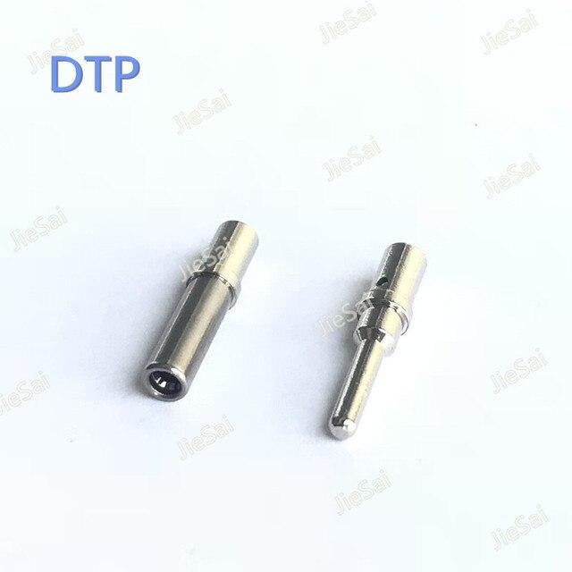 50/100Pcs DTP 0462 203 12141 0460 204 12141 Dimensioni In Acciaio Inox 14AWG per 12AWG Spille Automotive Terminale del Connettore Per Deutsch
