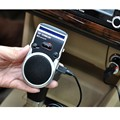 hot fashion solar powered speakerphone Wireless Bluetooth Handsfree Car Kit For Mobile Phone Dual Phone Connect