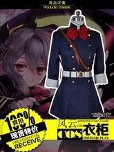 Anime Serafín de Finales Cosplay Personalizada Sistema Completo negro/azul traje 2 estilos