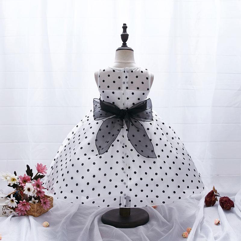 AiLe Rabbit New Arrival  Princess Summer Girl Dress Classic White - Children's Clothing - Photo 4