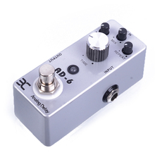 ENO EX AD-6 Full Metal Shell Effect Pedal About 30-340ms Delay Time Mini Analog With True Bypass