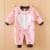 2016 recém-nascidos Macacão de Inverno baby boy Grils roupas de inverno Manga Longa Macacão de Bebê Macio Infantil Do Bebê Conjunto Roupa da menina Macacões