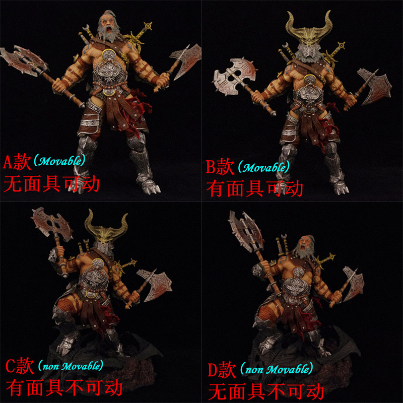 25cm 2017 NEW movable Figures game 4 Tyrael mask axe sword PVC Figure joker Zelda DC marvel avengers collectible Model doll toy new game ashe action figure collectible model toy pvc 23cm game figures doll brinquedos juguetes hot sale free shipping