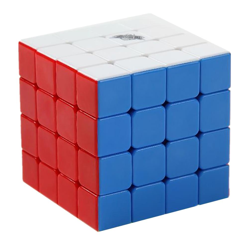 Cyclone Garçons Ft Mini 4x4x4 Stickerless Vitesse Cube 57mm