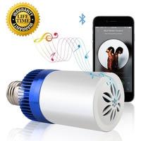 E27 220v Led Lamp Acrylic 3W 4.5W Wireless Wifi Remote Control Bluetooth Speaker Music Smart Led Bulb Lamp Fixtures BB SPEAKER