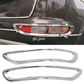 Car Styling Auto Accessories For KIA Sportage 2016 2017 ABS chromed rear tail light lamp cover trim 2pcs/set