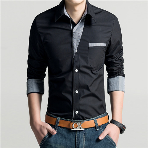 Shart for men 2014 images galleries for Mens dress shirts fashion