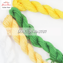 Золотое панно сделай сам DMC 3740-3787 вышивка нитью нити 10 шт./партия 1,2 м Набор для вышивки крестиком наборы для вышивки крестом 11,12