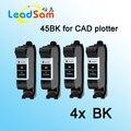 4x for hp 45 45BK black ink cartridge for CAD plotter inkjet machine
