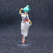 Freeing Dragon Ball Girls Bulma Aladdin Ver Figure PVC 21cm Collection Toy Gift Dragonball Evolution Toys