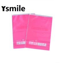 Buy Ysmile Shoe Bag Plastic Travelling Organizer Clothes Storage Packaging with Zip Lock directly from merchant!